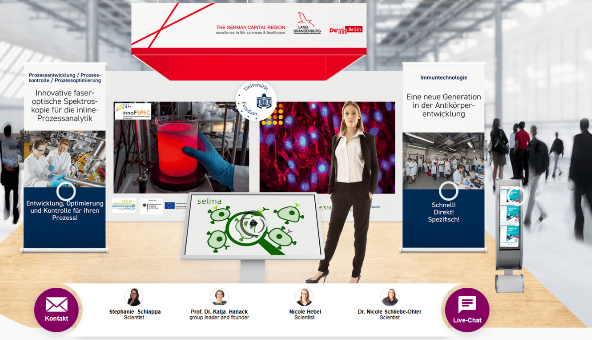 innoFSPEC @ Analytica virtual from October 19 to 23, 2020